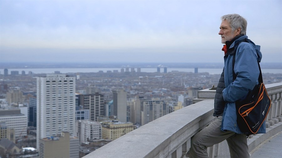 Director John Walker in Quebec My Country Mon Pays